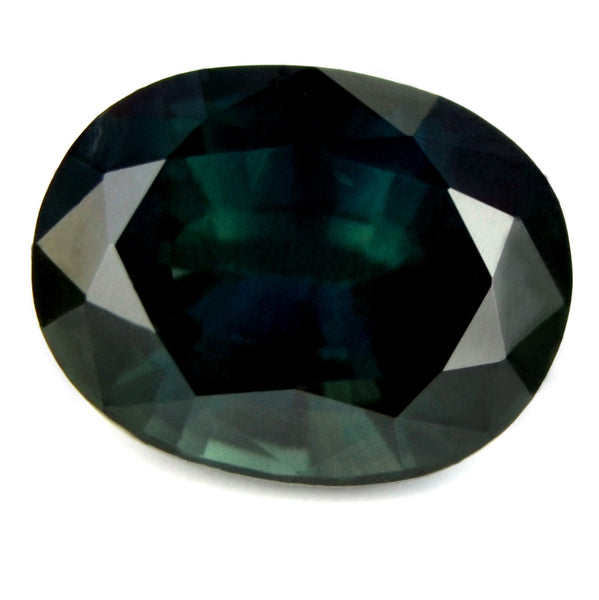 Certified Natural 1.47ct Greenish Blue Sapphire - sapphirebazaar - 1