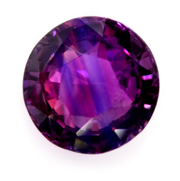 0.86 ct Certified Natural Bi-Color Sapphire