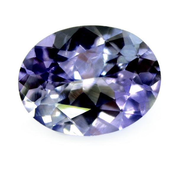 0.93 ct Certified Natural Violet Sapphire