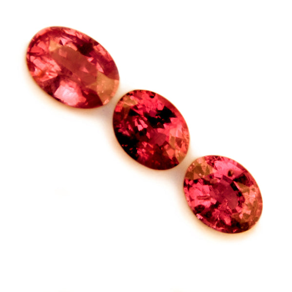 0.43ct Certified Natural Red Ruby Set - sapphirebazaar - 1