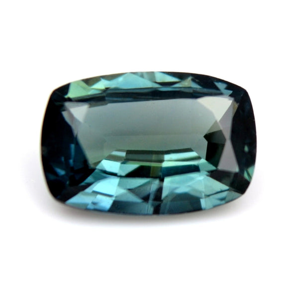 0.71ct Certified Natural Teal Sapphire