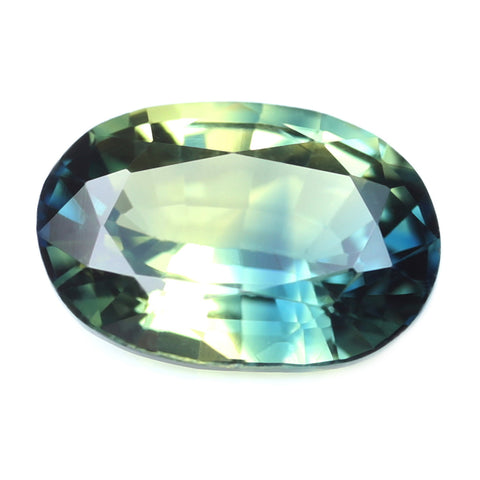 0.59ct Certified Natural Multicolor Sapphire