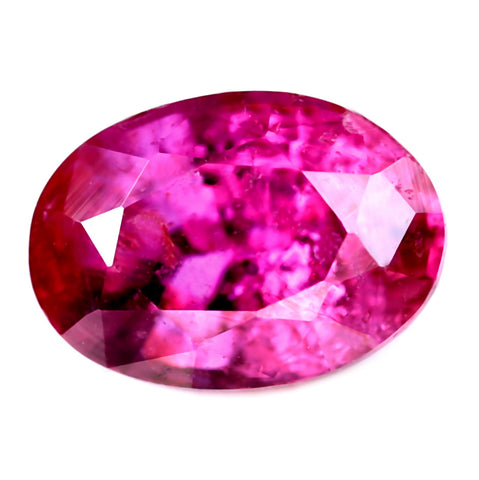 0.53ct Certified Natural Red Ruby