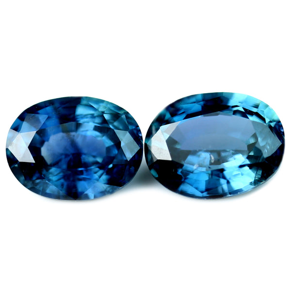 0.93ct Certified Natural Blue Sapphire