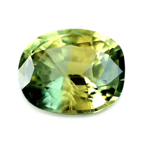0.49ct Certified Natural Bicolor Sapphire