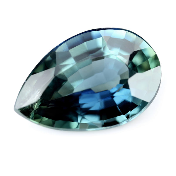 1.50ct Certified Natural Teal Sapphire