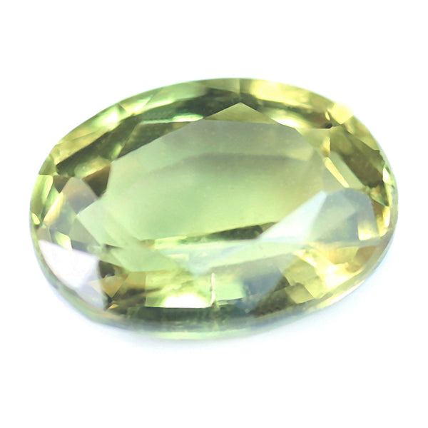 0.79ct Certified Natural Yellow Sapphire
