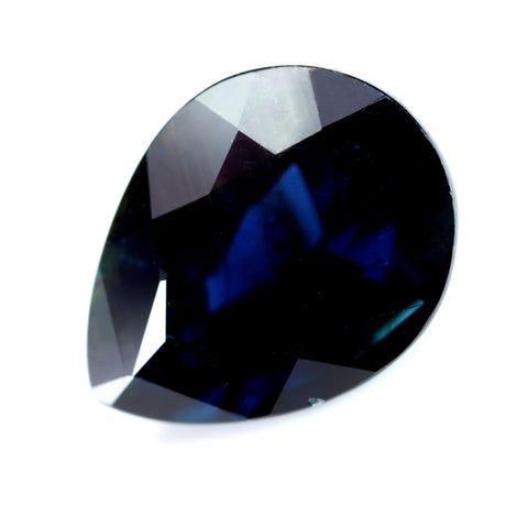 1.99ct Certified Natural Blue Sapphire