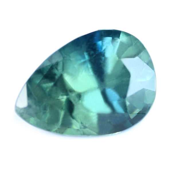 1.08ct Certified Natural Teal Sapphire