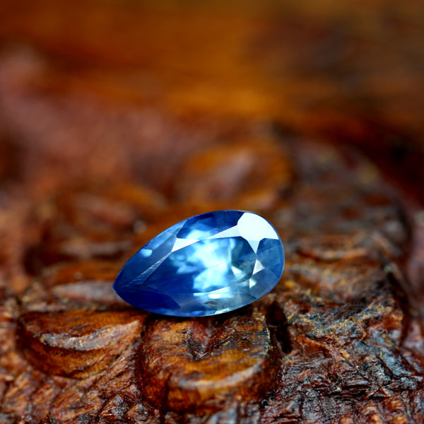 1.20cts Certified Natural Blue Sapphire