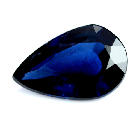 1.48ct Certified Natural Blue Sapphire