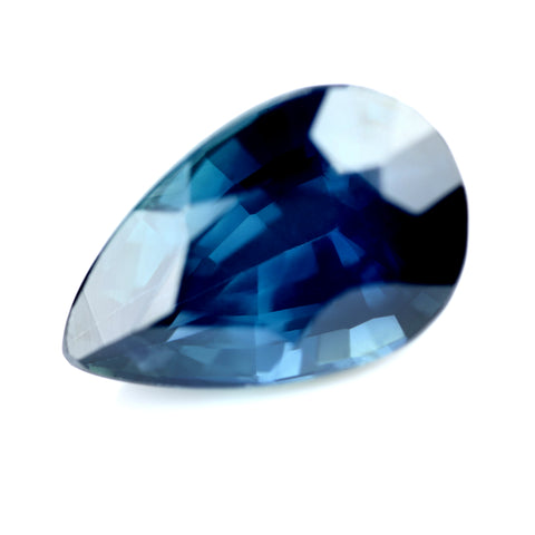 1.27ct Certified Natural Teal Sapphire