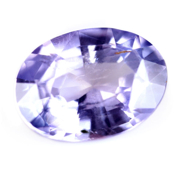 1.32ct Certified Natural Purple Sapphire