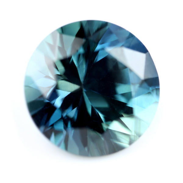 0.62ct Certified Natural Teal Sapphire