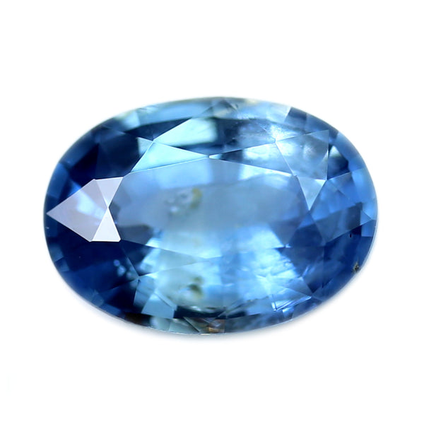 0.44ct Certified Natural Blue Sapphire
