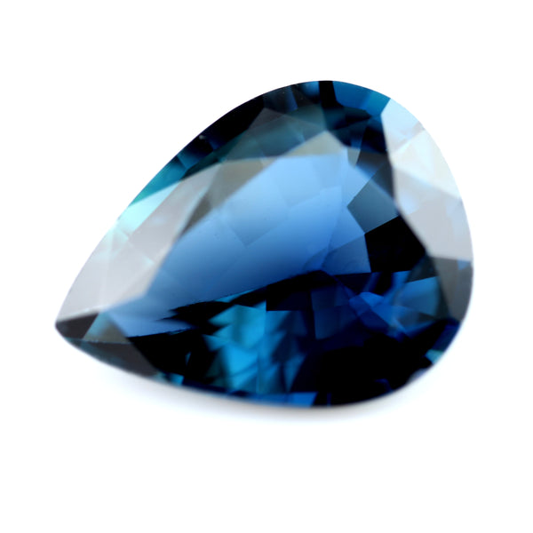0.89ct Certified Natural Blue Sapphire