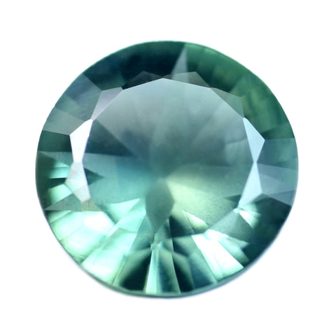 1.23ct Certified Natural Teal Sapphire
