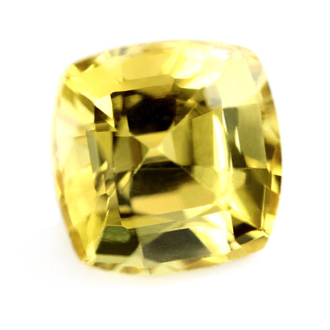 0.35ct Certified Natural Yellow Sapphire