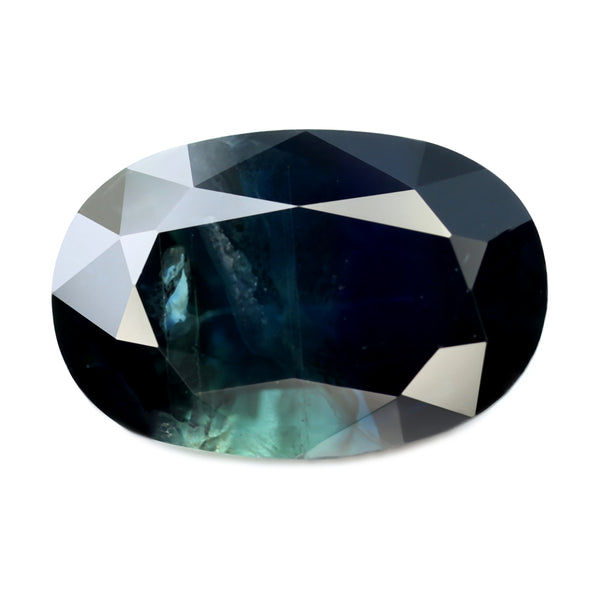 1.94ct Certified Natural Teal Sapphire