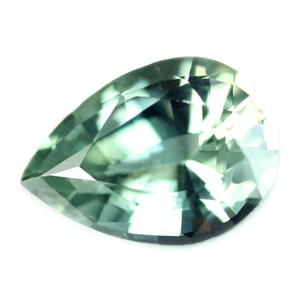 0.50ct Certified Natural Green Sapphire