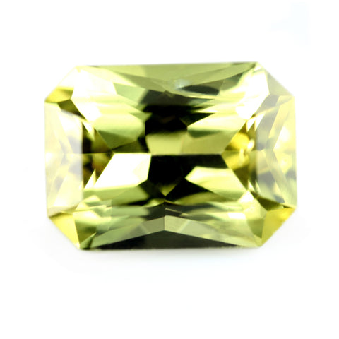 0.84ct Certified Natural Yellow Sapphire