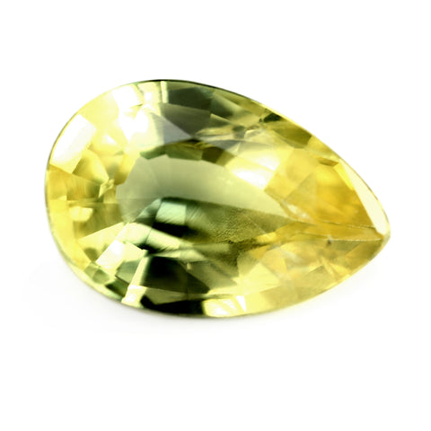 1.03ct Certified Natural Yellow Sapphire
