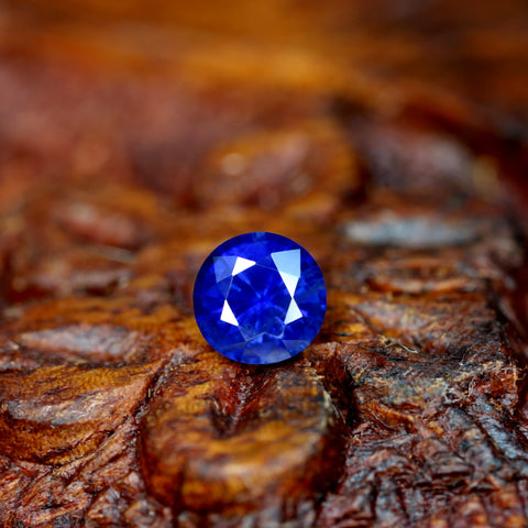 0.41ct Certified Natural Blue Sapphire