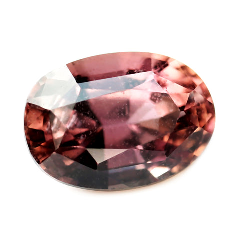 0.76ct Certified Natural Peach Sapphire