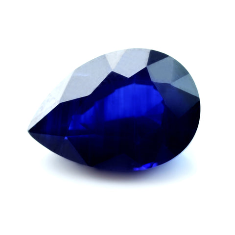 2.49ct Certified Natural Royal Blue Sapphire