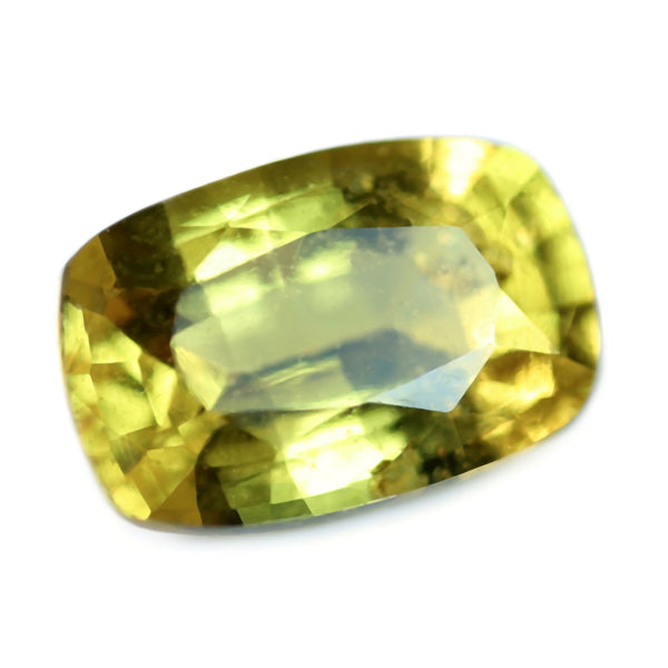 0.63ct Certified Natural Yellow Sapphire