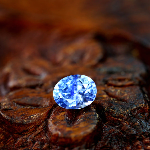 0.50ct Certified Natural Blue Sapphire
