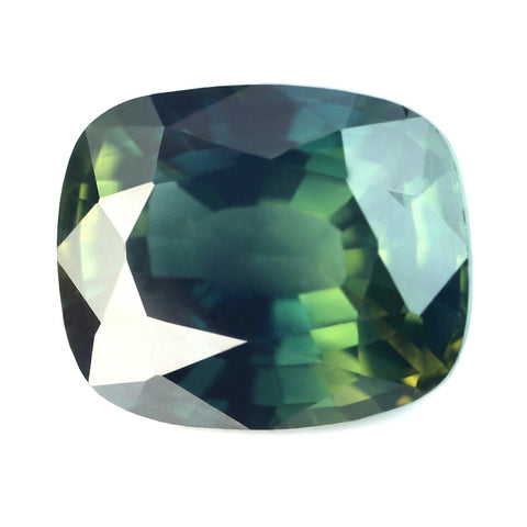 3.09ct Certified Natural Green Sapphire