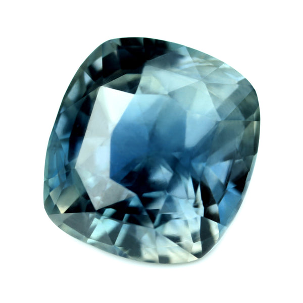 3.06ct Certified Natural Teal Sapphire