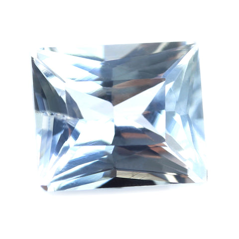 0.90ct Certified Natural White Sapphire