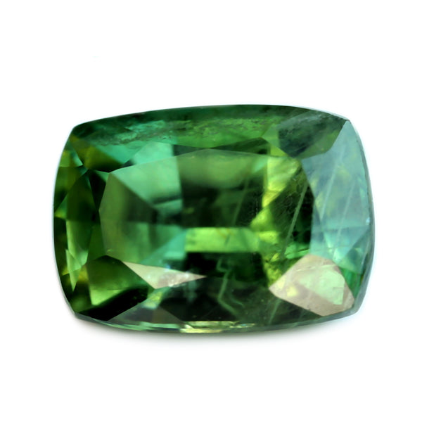 1.28ct Certified Natural Green Sapphire