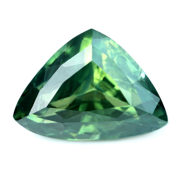 1.40ct Certified Natural Green Sapphire