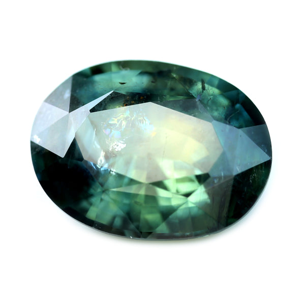 1.92ct Certified Natural Bicolor Sapphire