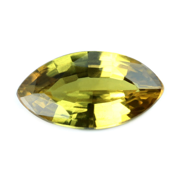 0.50ct Certified Natural Yellow Sapphire
