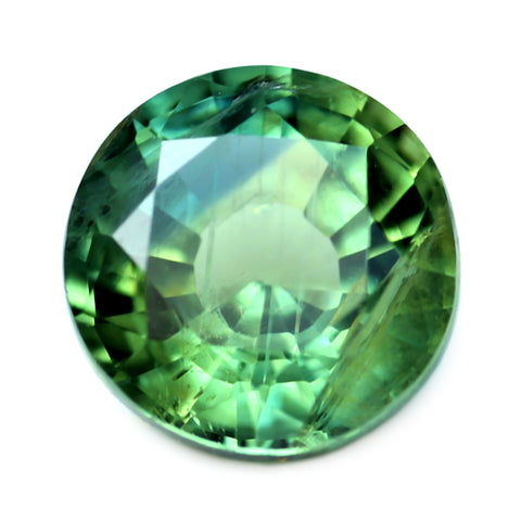 1.01ct Certified Natural Green Sapphire