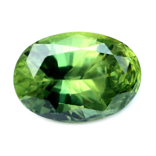 1.44ct Certified Natural Green Sapphire