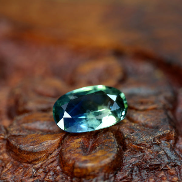 1.11ct Certified Natural Multicolor Sapphire