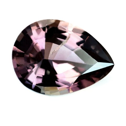 1.28ct Certified Natural Peach Sapphire