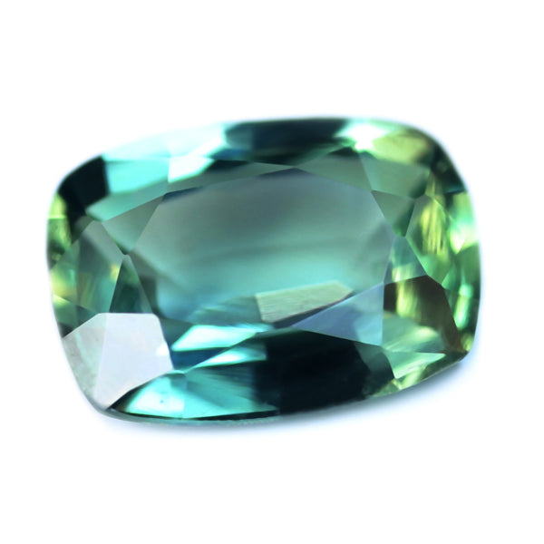 0.56ct Certified Natural Teal Sapphire