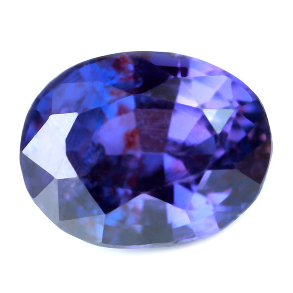 0.78ct Certified Natural Purple Sapphire
