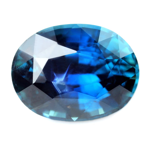 1.62ct Certified Natural Blue Sapphire