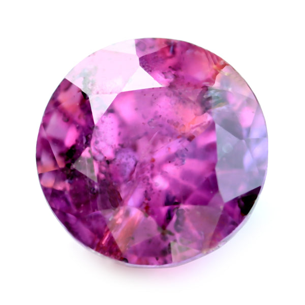 0.80ct Certified Natural Pink Sapphire