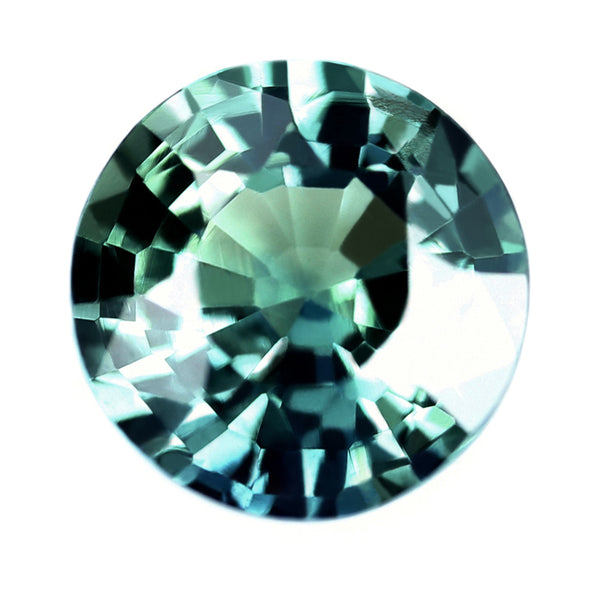 0.86ct Certified Natural Teal Sapphire