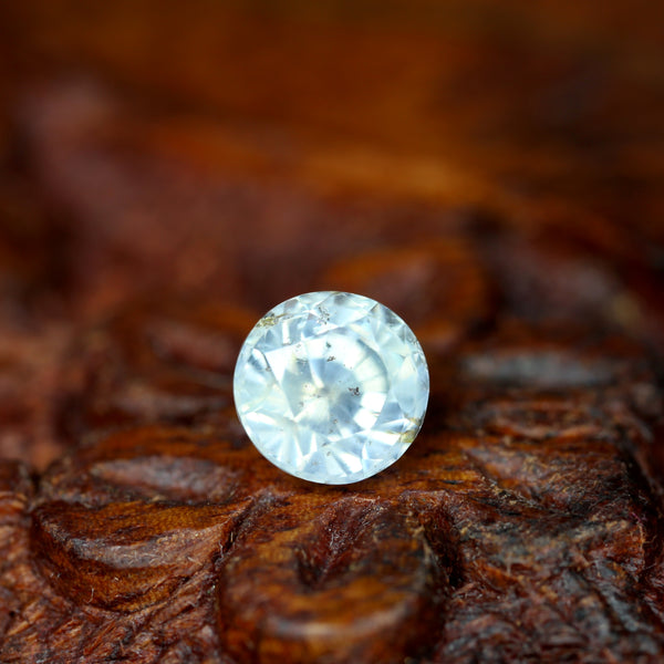 1.28ct Certified Natural White Sapphire