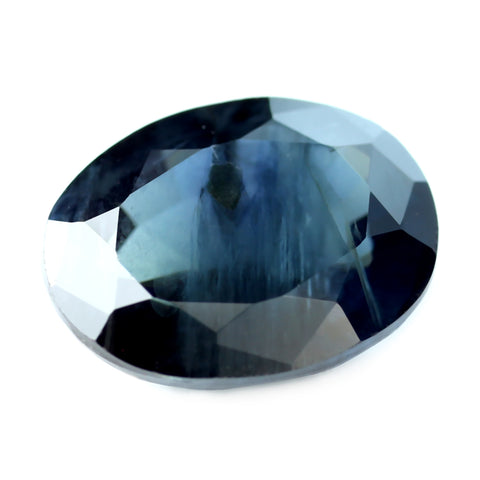 1.65ct Certified Natural Teal Sapphire