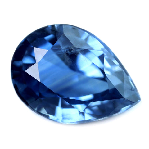 0.62ct Certified Natural Blue Sapphire